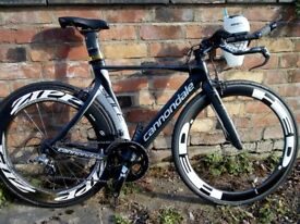 Cannondale Slice HI-MOD 2011 51cm, Zipp 808, HED Deep section front, **1400 ONO**
