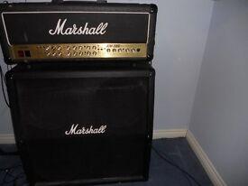 Marshall JCM2000 amp head and 4x12 speaker cab.