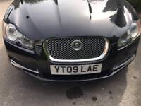 JAGUAR XF 2009 LOW MILEAGE BLACK