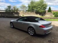 BMW 645 CI Convertible for sale (£11,000 of extras!)