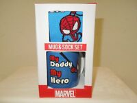 A Genuine MARVEL Mug & Sock Set
