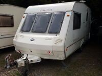 1999 ABI Manhattan 470 2 Berth Caravan with Full Awning