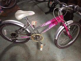 Child's bikes suit girls 3 - 10