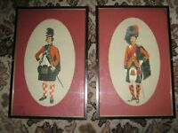 A pair of Scottish guards pictures