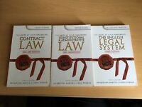 3 LAW BOOKS - KEY FACTS