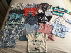 3-6 Months Boys T-Shirt Bundle