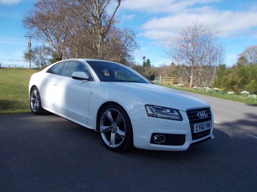 AUDI A TDI SLINE SPECIAL EDITION COUPE IN IBIS WHITE - Audi a5 white