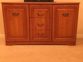 Side Unit and Corner Cabinet