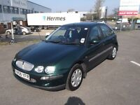 "rover 25 1.6 5 door, mot'd px to clear only ""£195""."