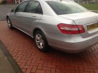 2009 09reg Mercedes E220 SE Automatic Silver leather Seats