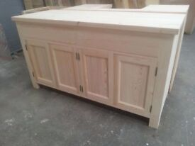 Solid Pine Dresser Base Free Standing *can be integrated as kitchen base unit