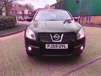 2010 59 plate Nissan QAshqai 1.5 Diesel Manual, Low miles