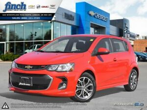 2017 Chevrolet Sonic LT Auto HATCHBACK|TRUE NORTH