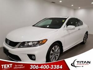 2015 Honda Accord EXL|Cam|Sunroof|Nav|Leather|Bluetooth