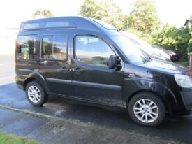 fiat doblo 1.9jtd dynamic wheelchair access
