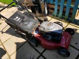 Less 2 yrs old self propelled petrol lawn mower