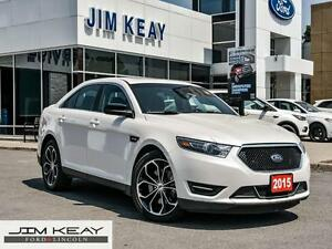 2015 Ford Taurus SHO AWD*MOONROOF*NAVIGATION*HEATED REAR SEATS*S