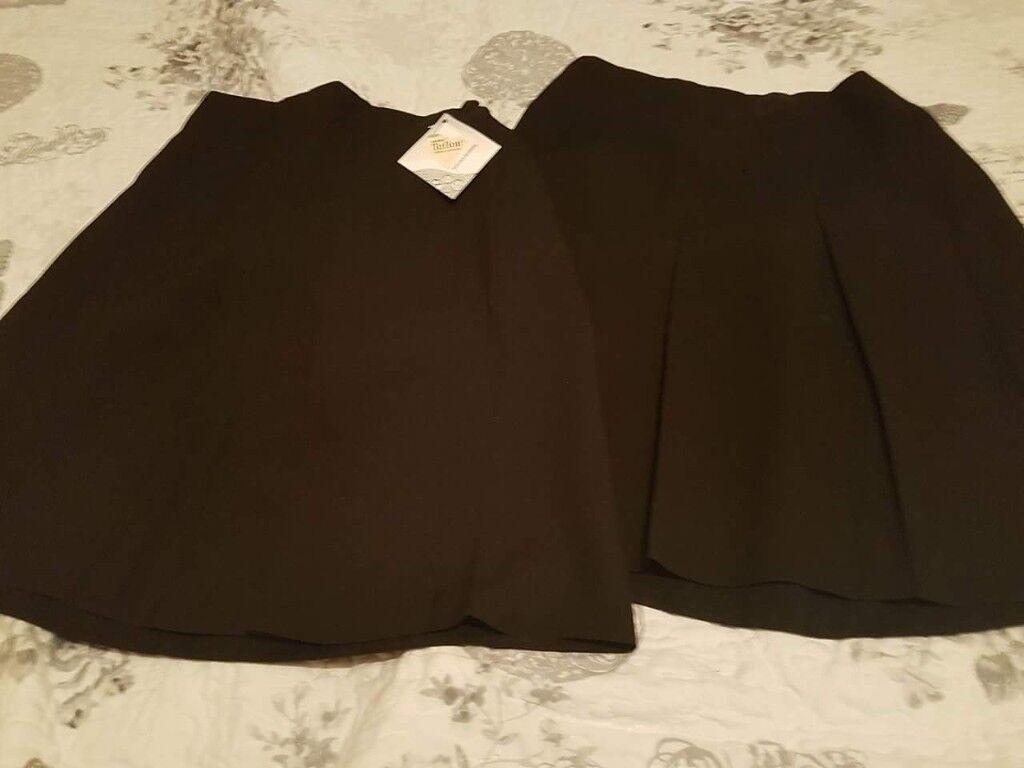2 new school skirts age 13-15yrs