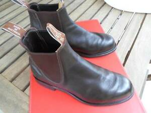 RM WILLAMS BOOTS COMFORT TURNOUT CHESTNUT MENS 7G Magill Campbelltown Area Preview