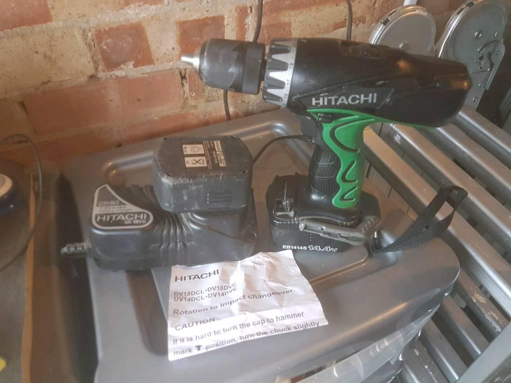 Hitachi 18v drill / impact driver