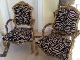 CHAIRS re-Upholstery