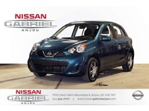 2016 Nissan Micra 1.6 SV AUTOMATIQUE+BLUETOOTH+AIR CLIM