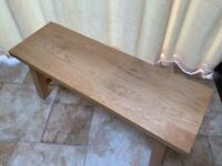 IKEA MOCKELBY Wooden Dining Bench Seat