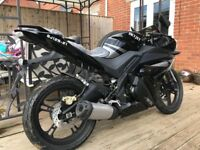 Like Yamaha yzfr 125 2017 brand new bike scooter moped swaps
