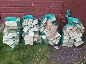 Firewood For Sale - 4 x 10Kg nets - Dry Stored - Hardwood and Softwood