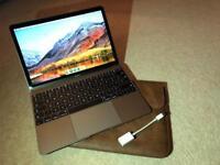 """Space Grey Apple Macbook 12"""" as NEW"""