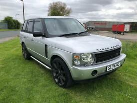 2004 LANDROVER RANGEROVER 3.0TD6-AUTOMATIC-FULL LEATHER-HISTORY-12 MONTH MOT-2 KEYS-DRIVES WELL