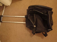 **FREE** Luggage (Backpack, Large Green Bag, Small luggage with wheels)