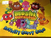 Moshi monsters activity carry case