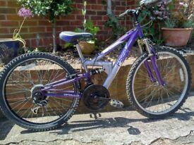 Child's Mountain Bike Apollo F/S 24