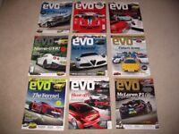 EVO magazines from 2013 2014
