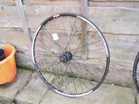TREK Bontranger AT-850 26 inch Mountain bike MTB front wheel for disk disc brakes only