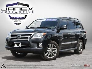 2013 Lexus LX 570 ACCIDENT FREE | LOW MILEAGE | BEIGE LEATHER...