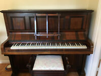 Burling and Mansfield Upright Piano for sale