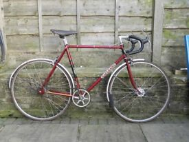 Macleans ULTRA 1961 road and path bike reynolds 531 kromo frame set- EKLA lugs - track fixed gear