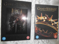 Game of Thrones Series 1 and 2