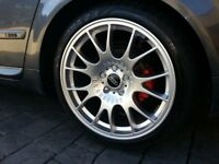 """BBS CH 18"""" to fit Audi A4 or similar 5x112 Replicas set of 4 with tires"""