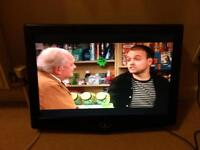 19 inch flat screen tv.