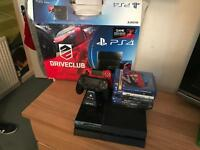 PlayStation 4 plus accessories and games