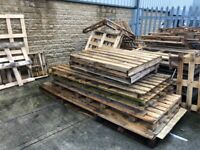 FREE Broken pallets - TIMBER - great for firewood, log burners, and more...