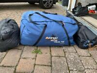 Vango 7 Berth Tent and loads of extras