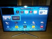 "Samsung Smart 3D 40"" LED TV UE40ES6540 Full HD 1080p Freeview & Freesat HD wifi"