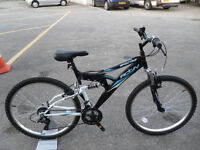 Brand New Activ Spectre Full Suspension Mountain Bike Never Ridden Perfect For Student Or Leisure