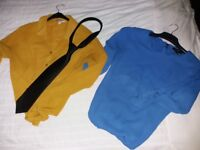Size 8 /10 blouses blue / mango fresh and comfortable
