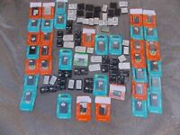 100 x ALL NEW Mobile phone batteries bulk job lot NEW Nokia Samsung Sony etc NEW.. MANY SEALED PACKS