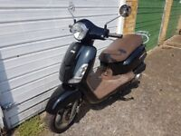 Sym Fiddle II 125 S, 125cc , scooter legal learner moped piaggio vespa style